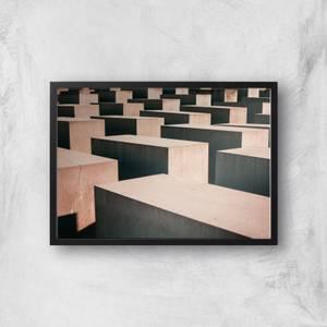 Blocks Giclee Art Print