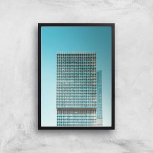 City Block Giclee Art Print