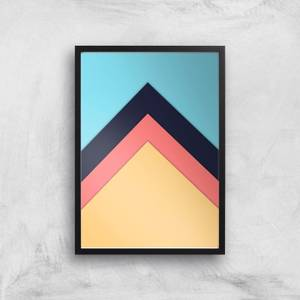 The Only Way Is Up Giclee Art Print