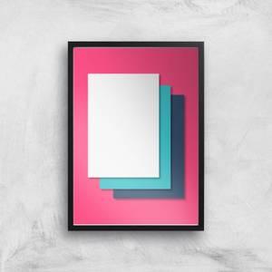 I'm Layered Giclee Art Print