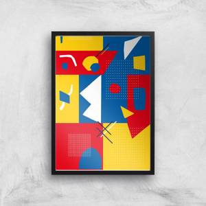 Explosion Of Colour Giclee Art Print
