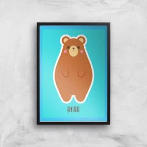 This Is A Bear Giclee Art Print