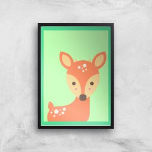 Sweet Deer Giclee Art Print