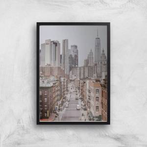 New York City Giclee Art Print