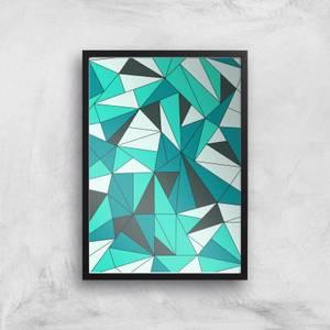 Shattered Glass Giclee Art Print