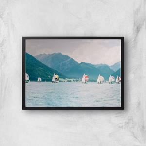 Sailing Giclee Art Print