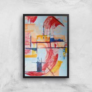Bathing In Colours Giclee Art Print