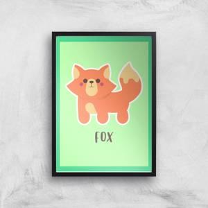 This Is A Fox Giclee Art Print