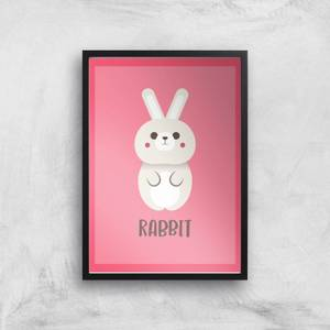 This Is A Rabbit Giclee Art Print