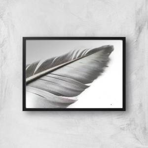 Leaf Or Feather? Giclee Art Print