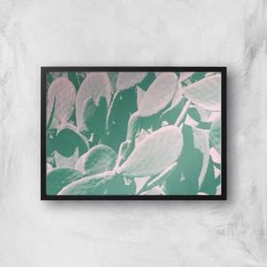 Over Exposed Leaves Giclee Art Print
