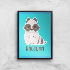 This Is A Raccoon Giclee Art Print