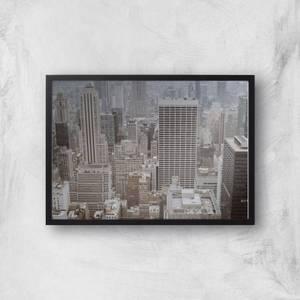 City Scape Giclee Art Print