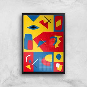 To Much Colour? Giclee Art Print