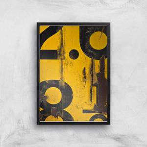 Count By Numbers Giclee Art Print