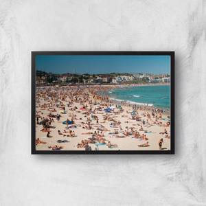 Summer Holidays Giclee Art Print