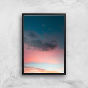 Peaceful Sunset Giclee Art Print