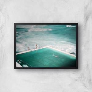 Rough Seas And Calm Pools Giclee Art Print