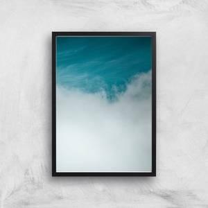 Rising Clouds Giclee Art Print