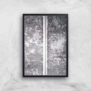 Snow Trail Giclee Art Print