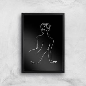 Taking A Minute To Night Giclee Art Print
