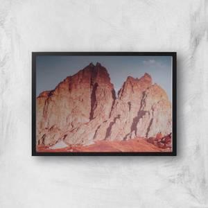 Rough Mountains Giclee Art Print