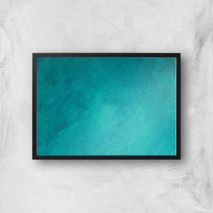 Turquoise Seas Giclee Art Print