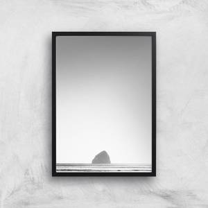 Lonely Rock Giclee Art Print