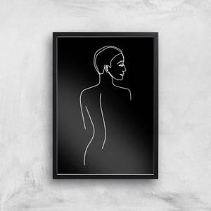 Follow Me Into The Night Giclee Art Print