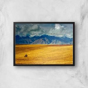 Lonely Traveller Giclee Art Print