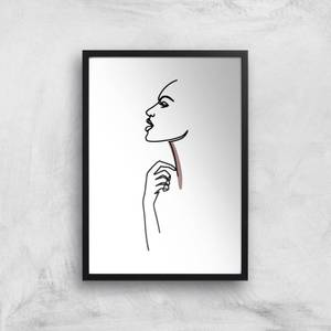Something In My Throat Giclee Art Print