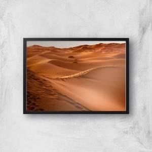 Desert Tracks Giclee Art Print