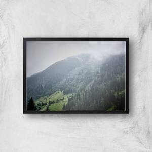 Creeping Mist Giclee Art Print
