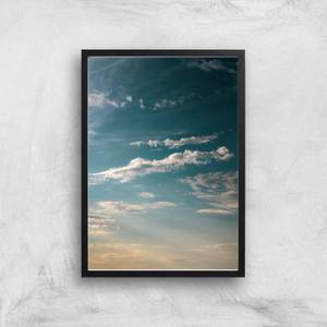 Scattered Clouds Giclee Art Print