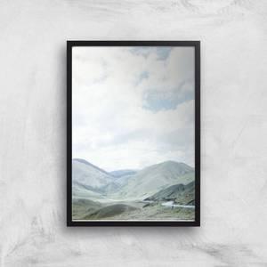 Mountain Drive Giclee Art Print