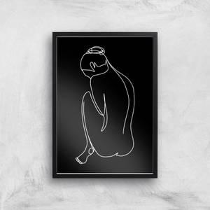 Feeling Sensitive Tonight Giclee Art Print