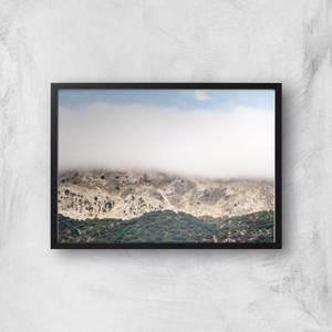 Nature Gradient Giclee Art Print