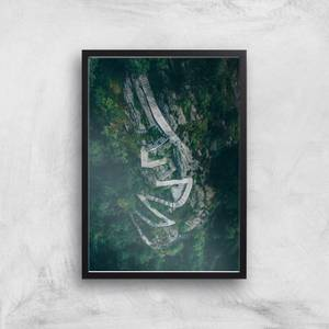 Forest Staircase Giclee Art Print