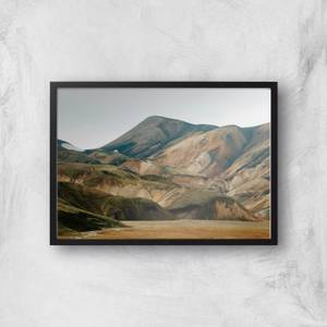 Picturesque Mountains Giclee Art Print