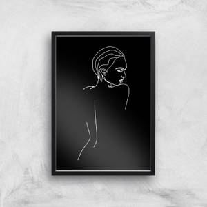 That Gaze In The Night Giclee Art Print