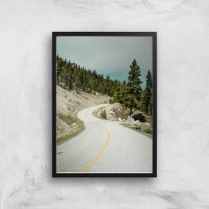 Road To Nowhere Giclee Art Print