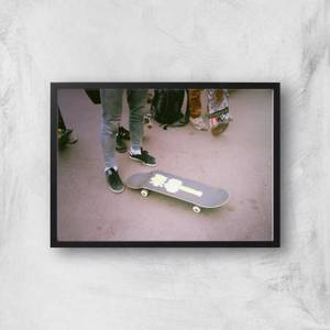 Broken Board Giclee Art Print