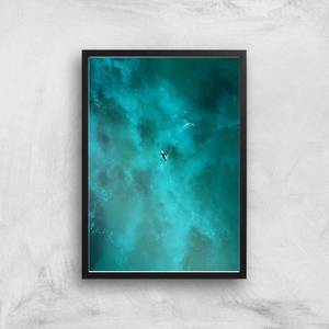 Solitary Surfer Giclee Art Print