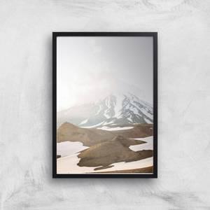 Misty Mountain Giclee Art Print
