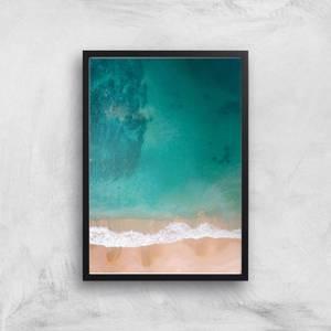 Beach Giclee Art Print