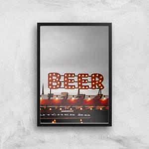 Beer Giclee Art Print
