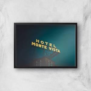 Hotel Monte Vista Giclee Art Print