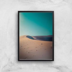 Desert At Dusk Giclee Art Print