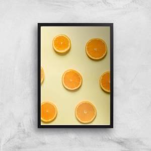 Orange Slices Giclee Art Print