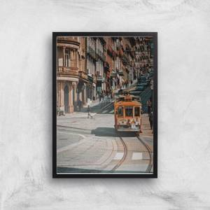 Cable Trolly Giclee Art Print